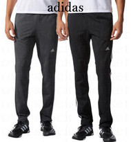 MENS ADIDAS TAPERED LEG WEEKENDER PANT ATHLETIC TRAINING PANTS!
