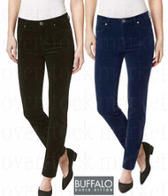 "WOMENS BUFFALO DAVID BITTON ""SUPREME"" MIDRISE SKINNY STRETCH CORDUROY"