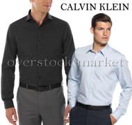 MENS CALVIN KLEIN SLIM FIT STRETCH DRESS SHIRT!