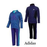 NEW ADIDAS GIRLS 2 PIECE ACTIVE WEAR SETS! NEW STYLES AND COLORS!