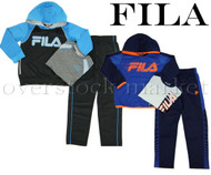 NEW! BOYS FILA 3 PIECE ACTIVEWEAR SET!