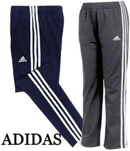 BOYS YOUTH ADIDAS 3 STRIPE PANTS! DRAWSTRING! TAPERED LEG!