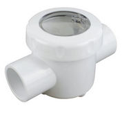Spring Check Valve - Clear Lid 40mm