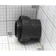Davey 1/2 Barrel Union for Pumps & Filters - Black