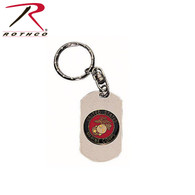 Rothco Marines Dog Tag Key Chain