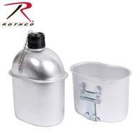 Rothco G.I. Style Aluminum Canteen
