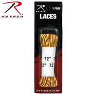 "Rothco 72"" Tan Nylon Work Boot Laces"