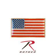 Rothco Classic Rectangular US Flag Pin
