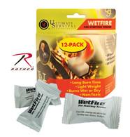 Wetfire Fire Starting Tinder / 12 Pack