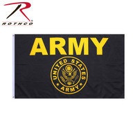 Rothco Black & Gold Army Flag