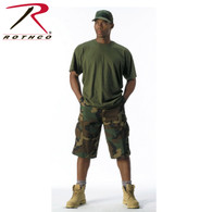 Rothco Long Length Camo BDU Short