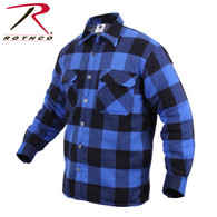Rothco Extra Heavyweight Buffalo Plaid Sherpa-lined Flannel Shirts