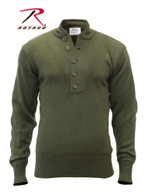 Rothco G.I. Style 5-Button Acrylic Sweater