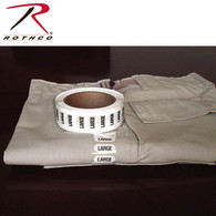 Rothco Size Strips