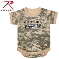 Rothco Army Brat Infant One-Piece