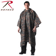 Rothco G.I. Type Military Rip-Stop Poncho