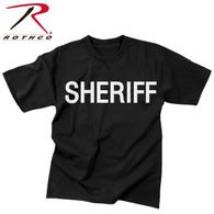 Rothco 2-Sided Sheriff T-Shirt