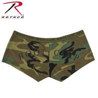 "Rothco Woodland Camo ""Booty Camp"" Booty Shorts & Tank Top"