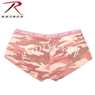 "Rothco Baby Pink Camo ""Booty Camp"" Booty Shorts & Tank Top"