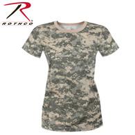 Rothco Womens Long Length Camo T-Shirt