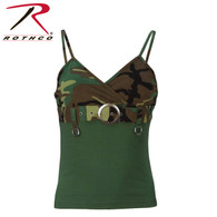 Rothco Womens 2-Tone Tank Top w/ Buckle