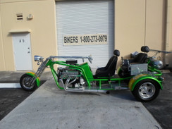Custom Trikes and Motorcycle's Built to Order
