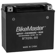 BikeMaster Maintenance Free Battery - BTX20L-BS BTX20L-BS