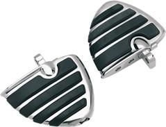 Kuryakyn 4450 ISO-Wing Pegs For Harley Male Mount