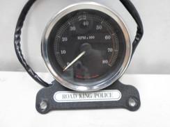 Harley Davidson Road King Police Tach 04-08 87042-04A Black