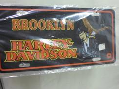 BROOKLYN Harley Davidson License Plate NEW