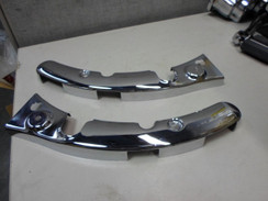 Genuine Harley 2009 to 2013 FLHT Touring Model  Fender Strut Covers Pair