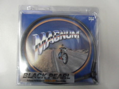 Magnum Black Pearl Designer Series Front Upper Brake Line3/8in/10mm 35deg Banjo2