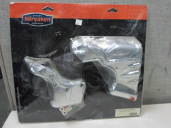 Kuryakyn Chrome Transmission Shroud Cover for Harley 07-08 FLH Stock Head Pipes