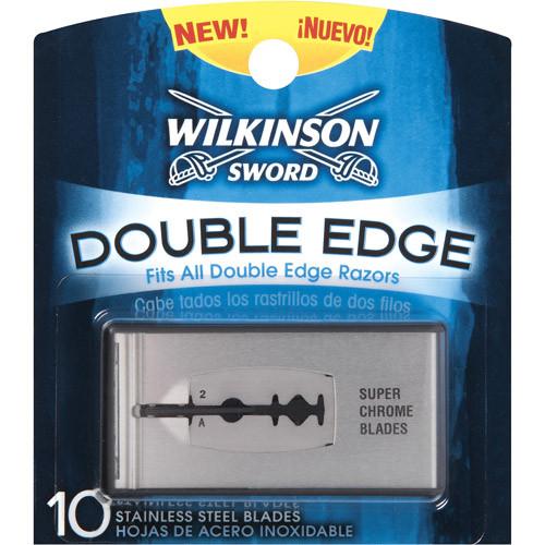 Wilkinson Sword Double Edge Stainless Steel Safety Razor Blades, 10 ct, 1 Ea