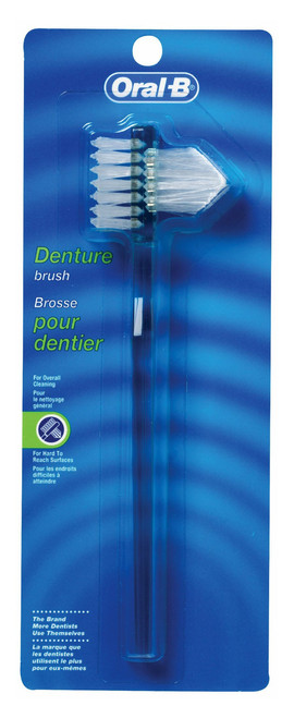 Oral B Denture Brush, Colors May Vary, 1 Ea