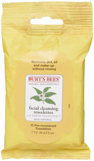 Facial Cleansing Towelettes - Peach & Willowbark Exfoliating by Burt's Bees #19