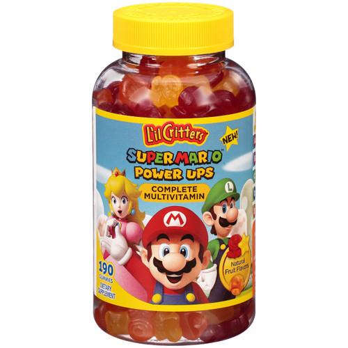 L'il Critters Super Mario Complete Multivitamins Gummies, 190 ct, 1 Ea