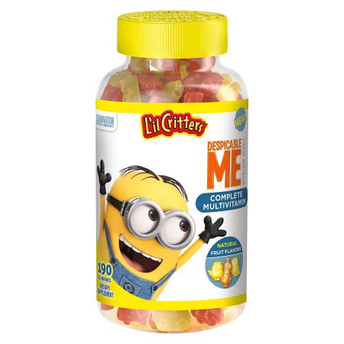 L'il Critters Minions Complete Multivitamins Gummies, 190 ct, 1 Ea