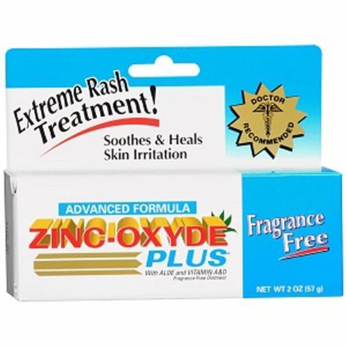 Advanced Formula Zinc Oxide Plus, Fragrance Free, 2 oz, 1 Ea