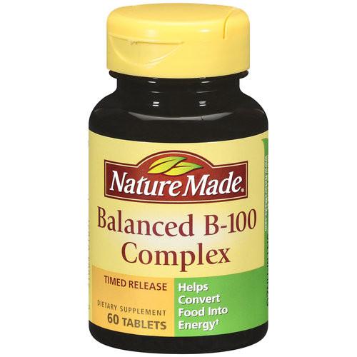 Nature Made Balancecd B-100 Complex Tablets, 60 ct, 1 Ea