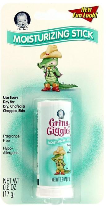 Gerber grins & Giggles Moisturizing Stick, 0.6 oz, 1 Ea