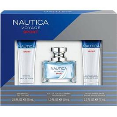 Nautica Voyage Sport 3-Piece Gift Set, 1 Ea