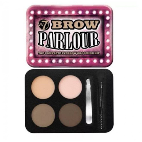 W7 Brow Parlour, The Complete Eyebrow Grooming Kit, 1 Ea