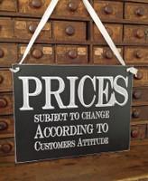 HM064 - Prices..... (Black)