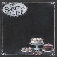 """PA415 - """"Sweet life""""   double sided paper"""