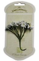 GN596 - White Delicate Blossom Flowers