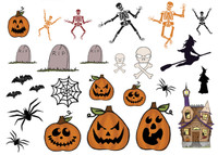 GN619 - Halloween Character Die Cuts