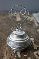 CIH189 - Doorknob Holder Farmhouse Zinc