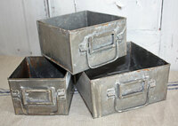 CIH266 - File Drawer - Large - Zinc