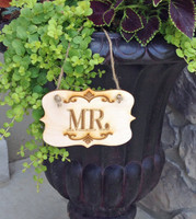 Mr. Label Style Sign
